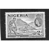 Нигерия. Британская колония. Добыча олова