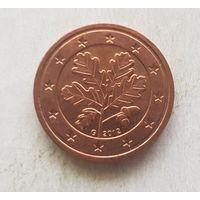 2 евроцента 2012 Германия G