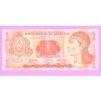 Гондурас. 1 лемпир (образца 2010 года, UNC)