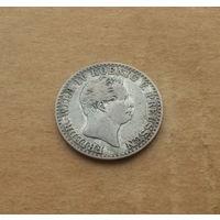 Пруссия, 2,5 грошена 1843 г., серебро, Фридрих Вильгельм IV (1840-1861)