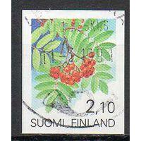 Флора Плоды Финляндия 1991 год серия из 1 б/з марки