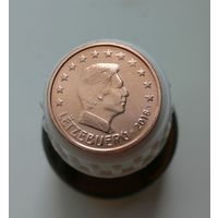 2 евроцента 2018 Люксембург UNC из ролла
