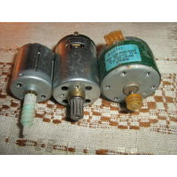 Малогабаритные моторчики -3 штуки