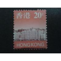 Китай 1997 Гонконг, колония Англии стандарт