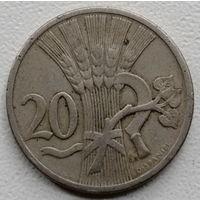 Чехословакия 20 геллер 1921
