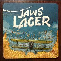 Подставка под пиво Jaws Brewery /Россия/ No 4