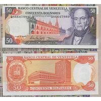 Распродажа коллекции. Венесуэла. 50 боливаров 1995 года (P-65e - 1981-1998 Issues)
