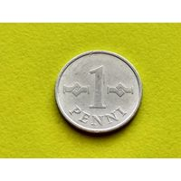 Финляндия. 1 пенни 1973.
