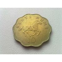 Танзания 10 центов 1981