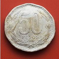 115-02 Чили, 50 песо 2010 г.