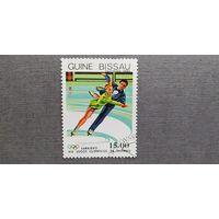 Марка Гвинея Биссау 1983 год. Олимпийские игры
