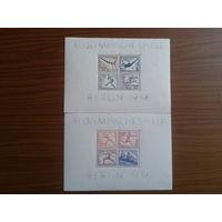 Рейх 1936 Олимпиада в Берлине 2 Блока