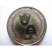 Финляндия 2 евро 2006г. 100 лет равного избирательного права в Финляндии. (юбилейная) UNC!