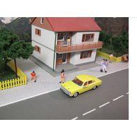 Модель автомобиля ГАЗ-24 (такси) HERPA. Масштаб НО-1:87.