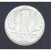 1 пфенниг Германия 1968_Лот #0382