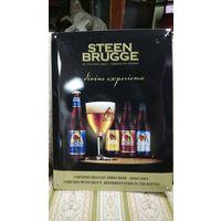 Реклама пива. Табличка, Бельгия. 40х30. Жесть. Цена за одну.