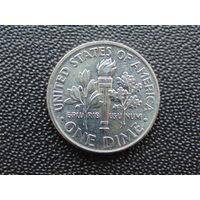 США 10 центов 2017 г. Р