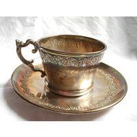 Чашка чайная Серебрение