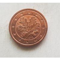 2 евроцента 2012 Германия J