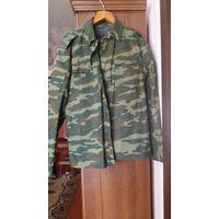 Куртка и брюки(комплект) военные камуфлированные. 50/5