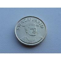 "Свазиленд. ""Эсватини"" 1 эмалангени 2003 год KM#45 ""Король Мсвати III"