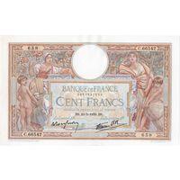 Франция, 100 франков, 1939 г.