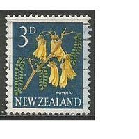 Новая Зеландия. Цветы. Софора. 1960г. Mi#396.