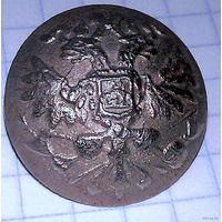Пуговицы посеребренная, Россия до 1917г.
