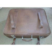 Большой чемодан. 100% натуральная кожа