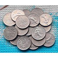 Франция 1/2 франка. Инвестируй выгодно в монеты планеты!