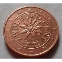 2 евроцента, Австрия 2005 г.