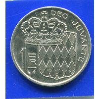 Монако 1 франк 1979