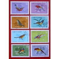 Вьетнам. Птицы. ( 8 марок ) 1981 года.