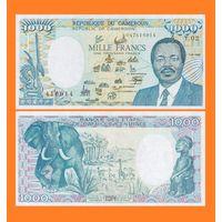 [КОПИЯ] Камерун 1000 франков 1986 г.