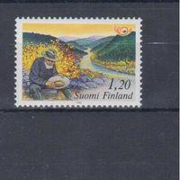 [609] Финляндия 1983. Геология.Добыча золота.