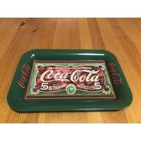 Поднос Coca-Cola 1989 г. Ценник