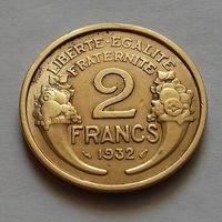 2 франка, Франция 1932 г.