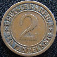 YS: Германия, 2 рентенпфеннига 1923A, KM# 31 (2)