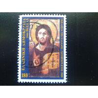 Греция 2000 икона Христа