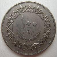 Ливия 100 дирхем 1975 г. (u)