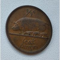 Ирландия 1/2 пенни, 1964 3-1-14