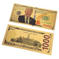 "Золотая банкнота ""Дональд Трамп"". распродажа"