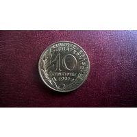 Франция 10 сантимов, 1997