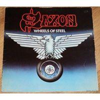 LP Saxon - Wheels Of Steel (1980) Heavy Metal