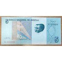 5 кванза 2012 года - Ангола - UNC