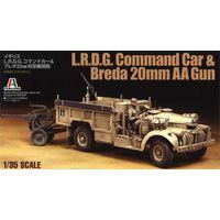 Бронеавтомобиль LRDG & Breda20 mm gun+ смола+травление 1/35