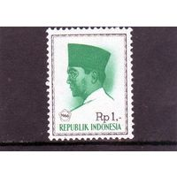 Индонезия. Ми-510. Президент Сукарно. 1966.
