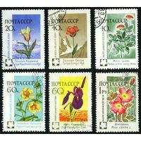 Флора СССР 1960 год 6 марок