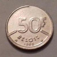 50 франков, Бельгия 1992 г.