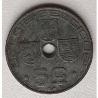 Бельгия 5 сантим 1941